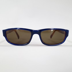 PAUL SMITH Navy & Brown Acetate PS-353 Sunglasses