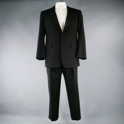 RALPH LAUREN 42 Short Wool Black 34 30 Tuxedo