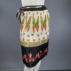 ROBERTO CAVALLI Size 8 Multi-Color Polyamide Skirt