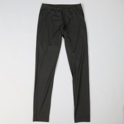YOHJI YAMAMOTO Size 2 Black Wool Blend Stretch  Leggings