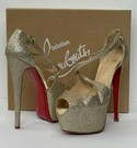 Christian Louboutin Size 38 'Exagona' Shoes