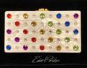 Edie Parker Jean Rainbow Clutch