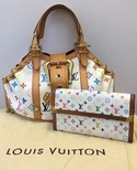 Louis Vuitton 'Theda PM' & Matching Wallet