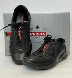 Prada Size 37 'Nevada Bike' Sneakers