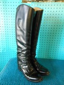 Effingham 8 Black Leather USED - Good Field Boots - Laced