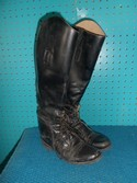 Cavalier 5 Black Leather USED - Good Field Boots - Laced