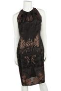 Biyan-Black-and-Blush-Floral-Embroidered-High-Neck-Dress-Sz-Medium_30674A.jpg