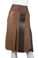 Celine-Brown-and-Tan-Skirt_24165A.jpg