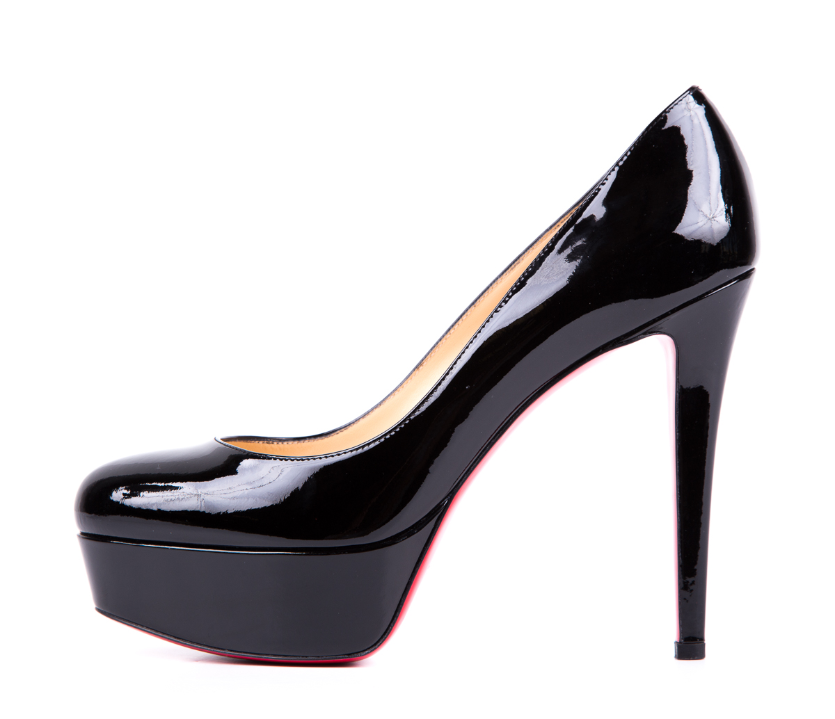 top christian louboutin replicas - Christian Louboutin Black Patent Leather Bianca Pumps SZ 38 | To ...