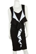 Givenchy-Black-and-White-Sleeveless-Ruffle-Front-Ruched-Dress-Sz-10_30673A.jpg