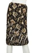 Louis-Vuitton-Dark-Green--Tan-Flower-Print-Skirt_26607A.jpg