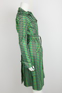 Oscar-de-la-Renta-Green-and-Brown-Plaid-Double-Breasted-Trench-Coat-Sz-2_29943B.jpg