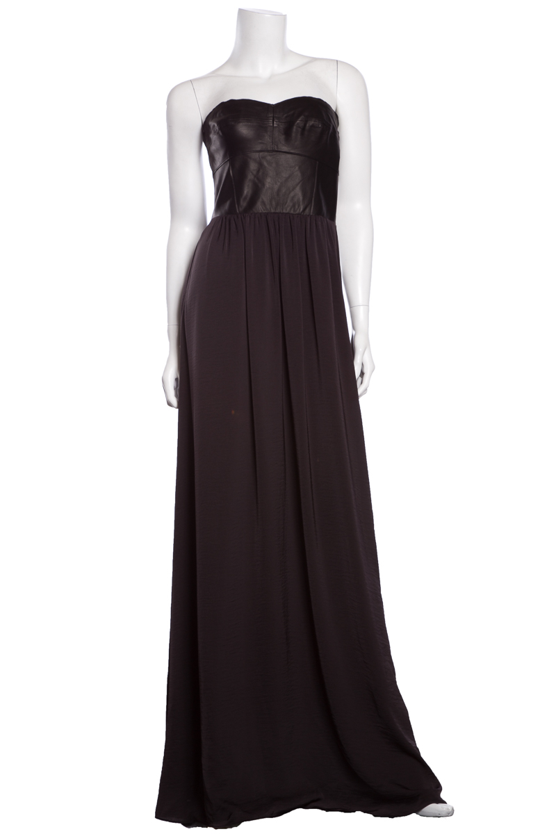 Rebecca-Taylor-Black-Maxi-Leather-Top-Dress-NWT-SZ-4_32899A.jpg