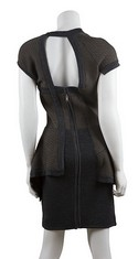 Yigal-Azrouel-NWT-Gray-and-Brown-Knit-Peplum-Dress-Sz-Medium_21518C.jpg
