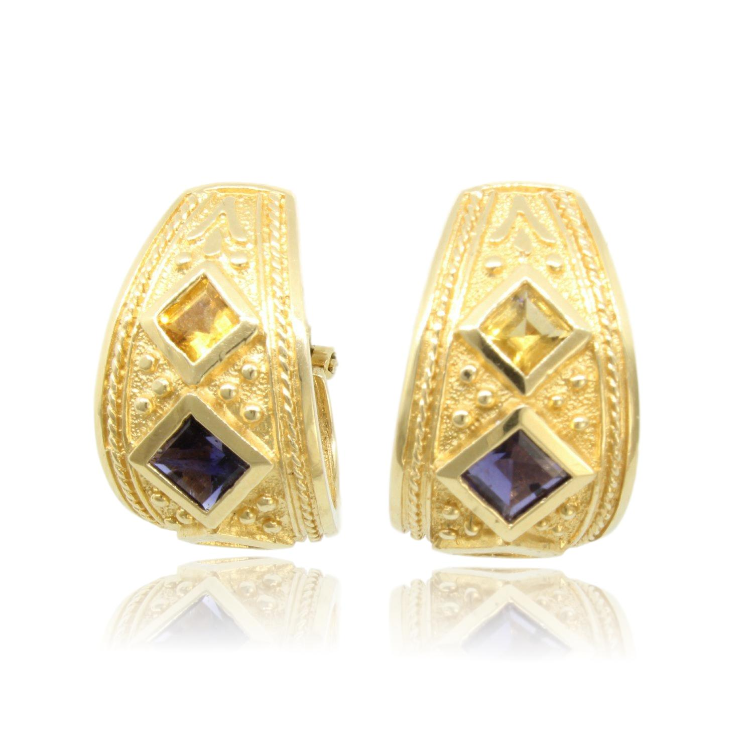 Arts-Elegance-14K-Gold-Iolite--Citrine-Etruscan-Earrings_80313A.jpg